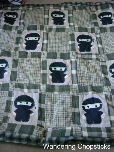 The Middle '87's Ninja Quilt 4