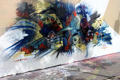 By Jade (oeildetat) Tags: paris peru painting graffiti spray urbanart jade cans graff aerosol bombing artmural pgc arturbain peinturemurale frenchgraff oeildetat