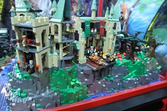 Harry Potter Display Case: - LEGO Booth at Comic Con - 11