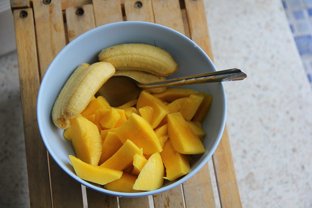 Mango and Bananas