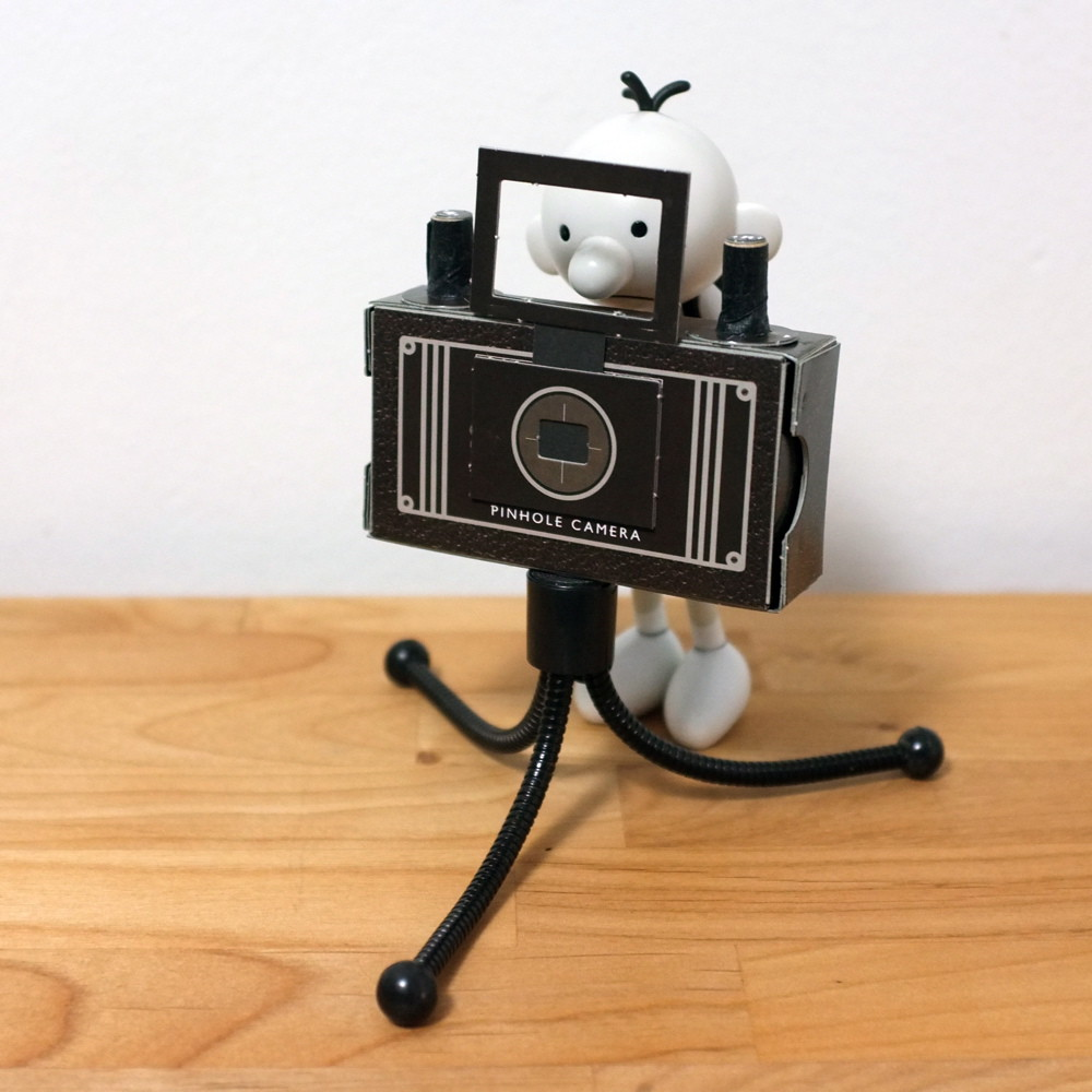 Cardboard pinhole camera kit - pt.4 of 4