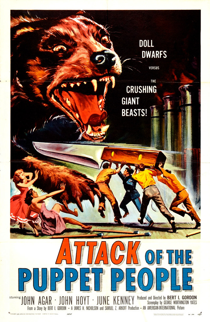 Reynold Brown - Attack of the Puppet People (American International, 1958)
