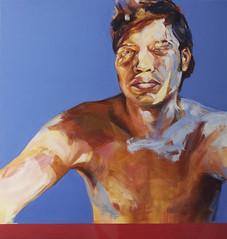 . ( Ernesto Fidel Romero Bayter) Tags: portrait art painting arte peinture oil pintura leo   figutive