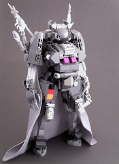 CEC Kniglich Teuton (Mechanekton) Tags: lego military future scifi knight cape mecha mech codegeass knightmareframe