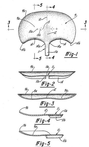 Patent for Bike Saddle 557238