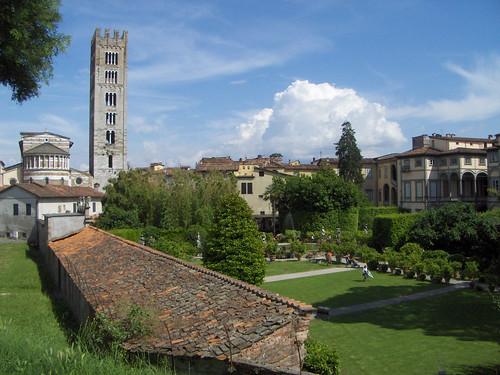 Les jardins du Palazzo Pfanner à Lucca