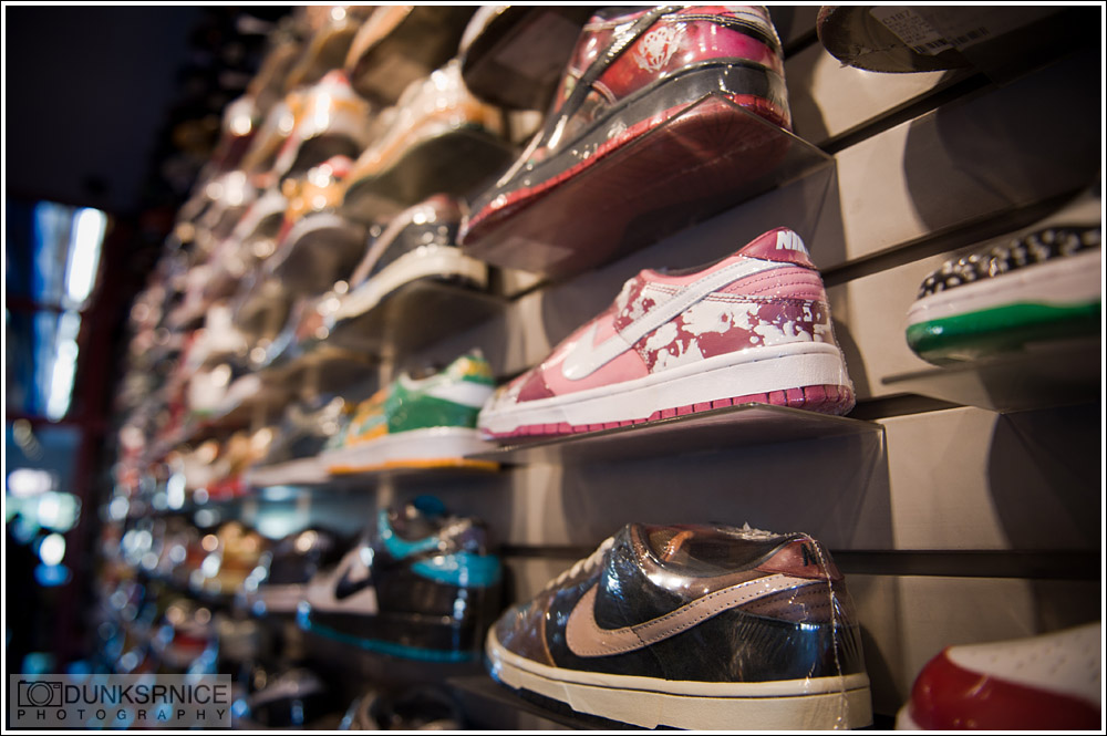 Flight Club, Los Angeles.