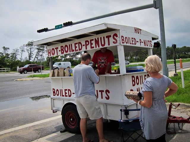 boiled penuts