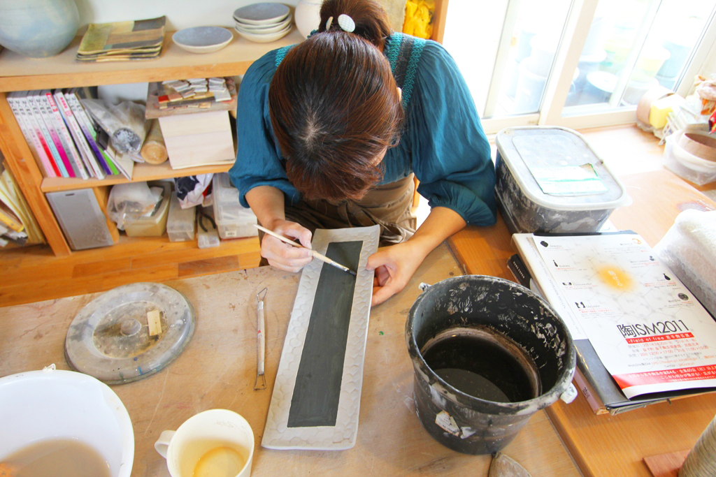 Pottery Artist Junko Yamamoto data collection (6)