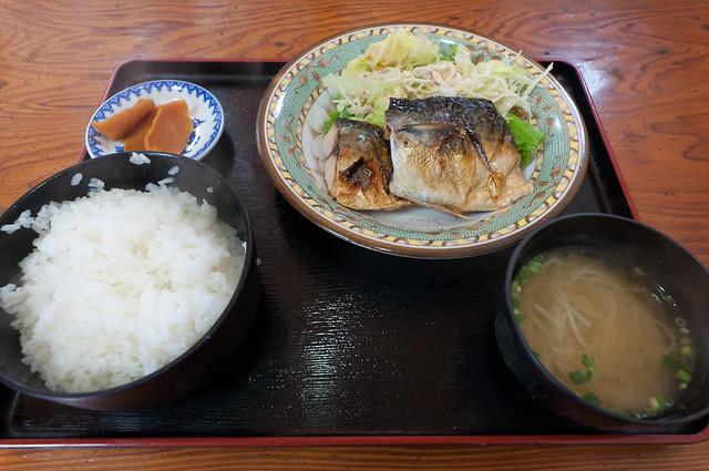 味菜 焼魚定食(鯖)