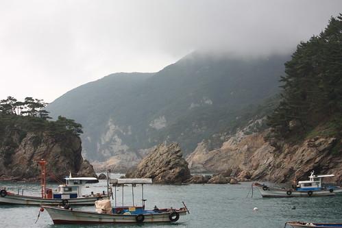 Fishing boats - Heuksando