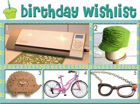 Funky Five: Birthday Wishlist