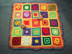 No Ladies you won't find your Square on here, this is all Sally's!.... 'Floral Fiesta' - named by bienzfive!