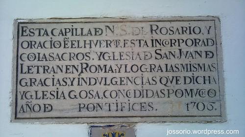 Capilla de Ntra. Sra. del Rosario, Sevilla by jossoriom