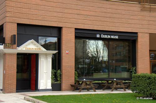 Cervecería Dublin House, en la Avenida de PÍo XII, Pamplona