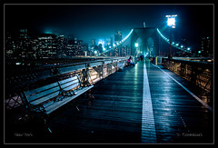 Brooklyn Bridge - New York City - NY (Dominique Palombieri) Tags: city nyc bridge usa newyork brooklyn night cityscape manhattan dominique 24mm 1600iso 2011 canoneos5dmarkii 14secatf50 palombieri lensef24105mmf4lisusm stunningphotogpin mayozdom