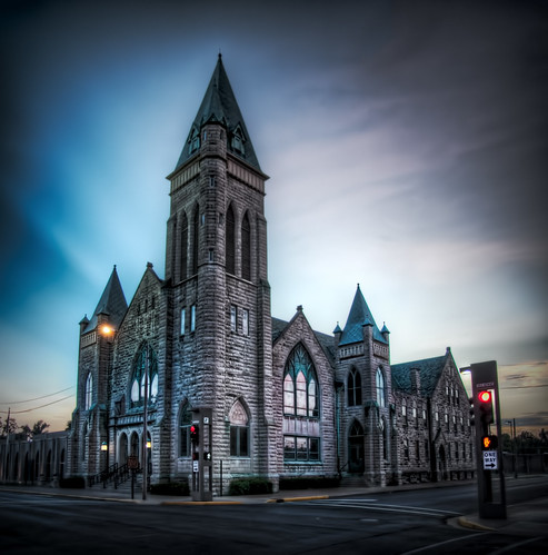 Broadway United Methodist Church by Thomas Gehrke