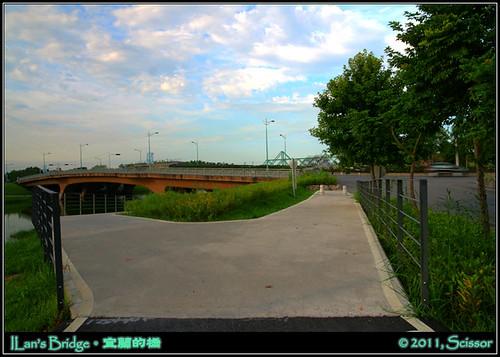 冬山河橋自行車道