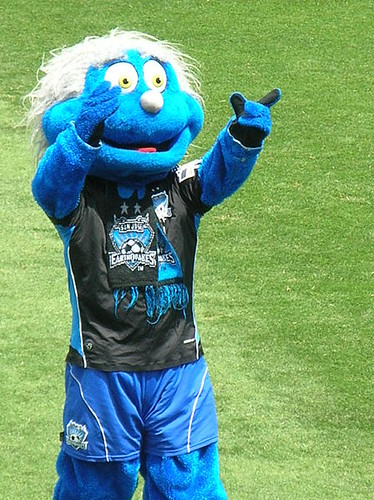 San Jose Earthquakes Mascot