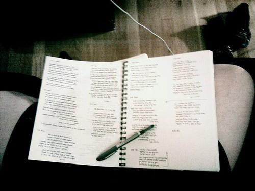 May 4, 2011 - poem-a-day OCD