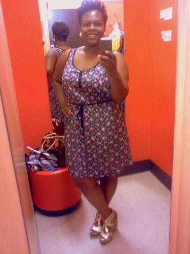 Floral Dress XXL