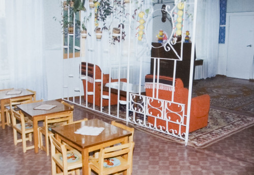 Khmelnitsky orphanage eating area 1993