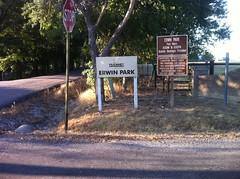 Erwin Park Sign