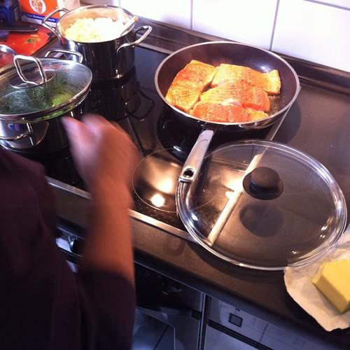 Kochkurs mit Schwiegermama
