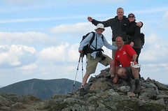 Summit of Stuc a'Chroin portrait
