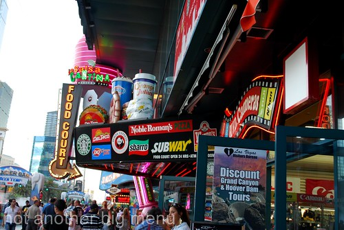 Las Vegas, Nevada - Busy signboards
