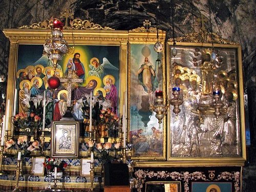 Iconos sobre el Altar