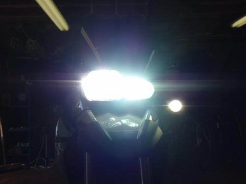 www.motorbikeadventures.co.uk headlight reflectors halogen bulbs HID light reflectors HID conversion (55 watt) fitting your own HID 'www.motorbikeadventures.co.uk' 'headlight reflectors' 'halogen bulb