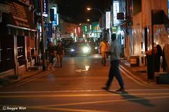 The street of Little India. (Reggie Wan) Tags: city night singapore asia southeastasia cityscape streetscene littleindia serangoonroad campbelllane asiancity reggiewan sonya850 sonyalpha850 gettyimagessingaporeq1