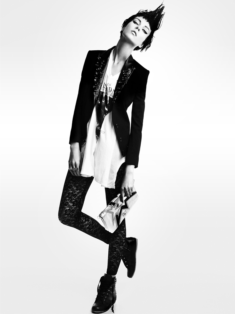 Punk Attack | Kristy Kaurova by Tony Kim for Sure June 2011 4