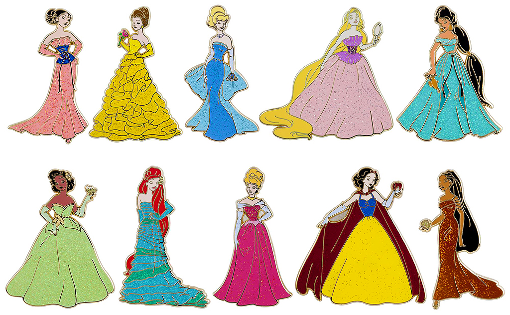 disney princess designer collection pin collection and