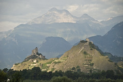 sion_switzerland_060811 (ellengwallace) Tags: mountains alps switzerland sion earlymorninglight