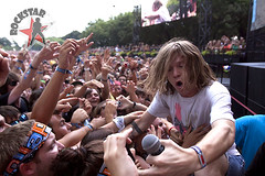 Cage the Elephant - Lollapalooza - Day 3 - Grant Park - Chicago, IL - Aug 7th 2011