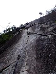 Steve Pitch 2 (Dru!) Tags: canada climb bc britishcolumbia steve climbing climber cracks squamish trad squamishchief stawamuschief seatosky stemalot bulletheads squamih bulletheadeast retroscrubbed