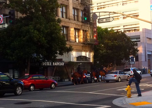 LAPD horse patrol
