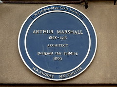 Photo of Arthur Marshall blue plaque