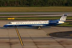 ERJ145.N14920 (Airliners) Tags: iad united unitedairlines embraer 145 erj unitedexpress embraer145 expressjet erj145 81211 expressjetairlines n14920
