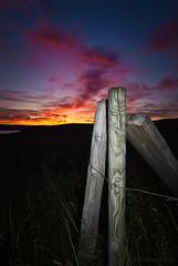 (SteinaMatt) Tags: sunset nikon august tokina mm sumar 1224 gst 2011 slsetur d80 steina vesturland dalir steinamatthvammsfjrurkvldroiredeveningskyslandicelandsummer2011