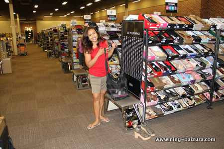 Ning Shopping Shoes
