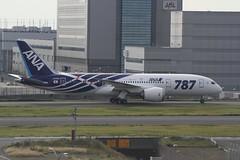 IMG_8966_JA801A (SCHIBA7119) Tags: airplane airport aircraft haneda hnd b787 dreamliner boeing787 ja801a
