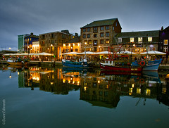 The Barbican Plymouth - (Explored) (Dave_O1 ~ Dave Edwards is away for a few days) Tags: sky color reflection water beautiful bar night canon boats outside lights interesting colours awesome plymouth grand images barbican explore daves 7d exceptional explored davidedwards daveedwards colorphotoaward dave01 davesimages efs1585mmisusm dredangler thephoto~heart~art~group