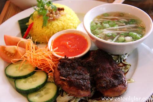 Nasi ayam, Ning Malaysian Restaurant & Cookery School