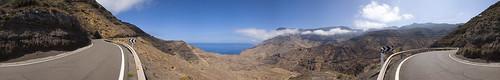 Carretera General de San Nicolas, Agaete. Isla de Gran Canaria