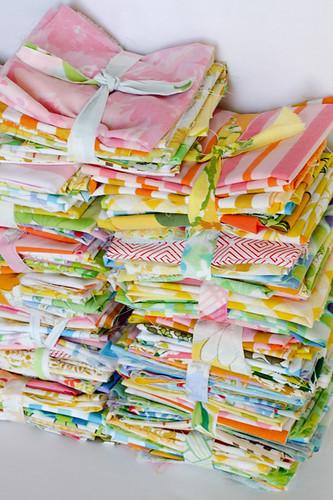 Vintage Sheet - Rainbow Scrap Packs by jenib320