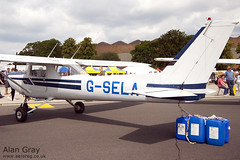G-SELA - CESSNA 152 - 110702 - Waddington - Alan Gray - IMG_0316