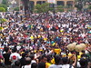 Thousands of Bersih protesters at Menara Maybank by freemalaysiatoday